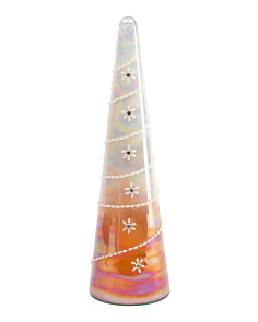 Made In India 21in Glass Tree Decor