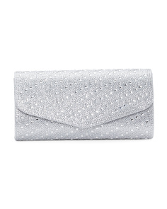Long Jeweled Clutch