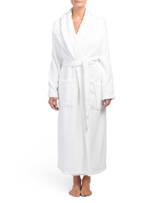 Terry Cloth Spa Robe