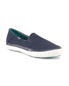 Sayel Dive Canvas Slip On Sneakers
