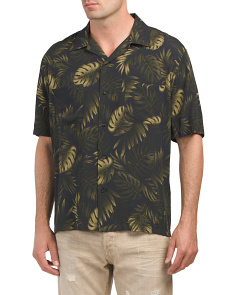 Short Sleeve Cabana Shirt