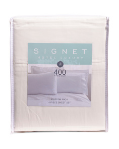 400tc Cotton Rich Sheet Set