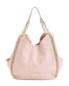 Colette Triple Entry Shoulder Bag