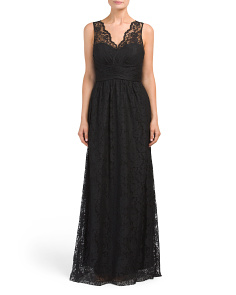 Long Lace Gown