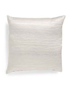 Made In USA 22x22 Faultline Metallic Pillow