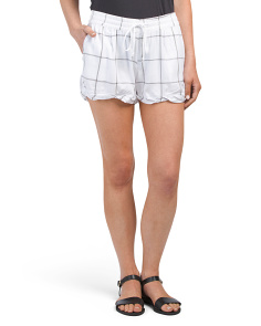 Juniors Amaranth Shorts