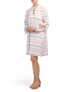 Juniors Kerin Split Sleeve Dress