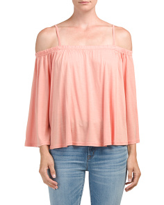 Juniors Marpesha Off The Shoulder Top