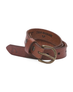 Women's Basic Leather Belt