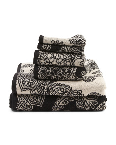 6pc Bath Towel Set