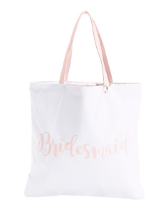 Bridesmaid Reversible Tote