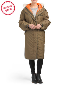 Hooded Billow Coat