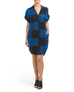 Made In USA Cooper Plaid Dress