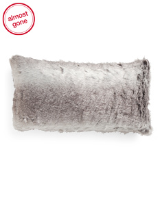 14x26 Faux Fur Pillow