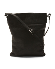 Leather Splitpocket Crossbody