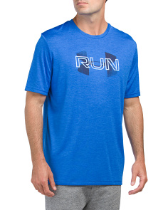 Run Overlap Twist Short Sleeve Top