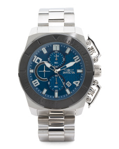 Men's Chronograph Pro Diver Bracelet Watch