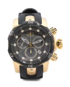 Men's Chronograph Venom Silicone Strap Watch