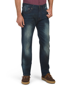 Big Stitch Straight Leg Jeans
