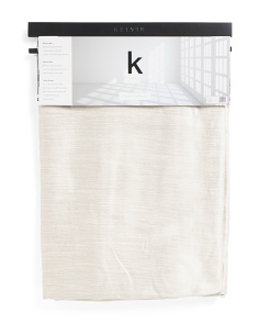 38x84 Set Of 2 Linen Look Blackout Curtains