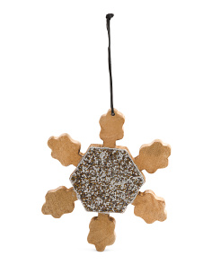 Made In India Snowflake Ornament