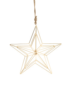 Made In India Wired Star Ornament