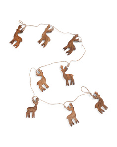 Made In India 6ft Reindeer Garland