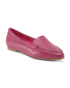 Audra Leather Ballet Flats