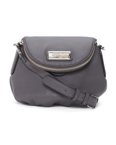 New Q Mini Natasha Leather Crossbody