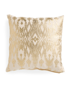 Made In India 20x20 Metallic Pillow