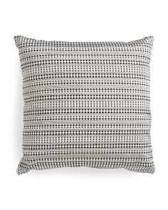Made In India 24x24 Textured Pillow
