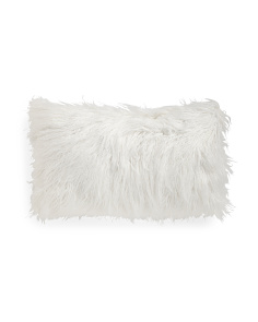 Made In USA 14x24 Faux Fur Pillow