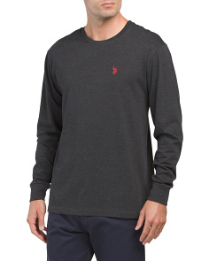 Long Sleeve Heather Tee