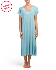 Lace Detail Sleep Gown