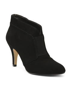 Center Gore Suede Shooties
