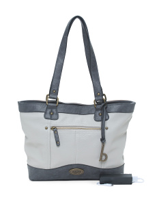 Potomac Tote With Charging Power Bank