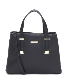 Double Compartment Satchel