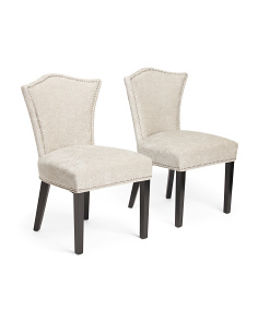 Set Of 2 Simone Hypnotic Chairs