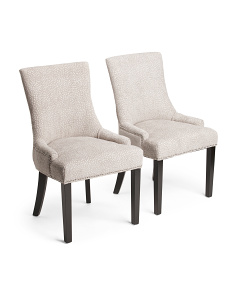 Set Of 2 Mckenzie Confetti Chairs