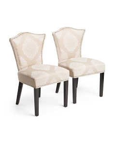 Set Of 2 Simone Lace Chairs