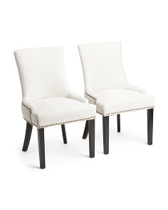 Set Of 2 Mckenzie Gleam Chairs