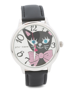 Women's Fancy Cat Dial Watch