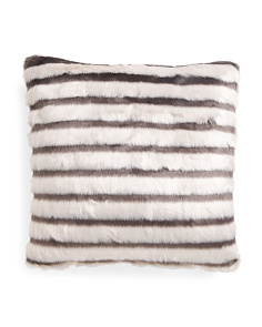 20x20 Bongo Faux Fur Pillow