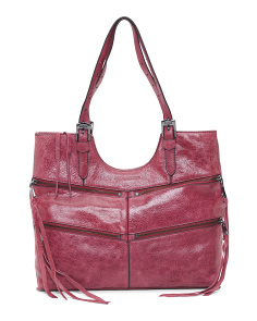 Macau Tumbled Vintage Leather Tote