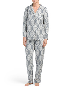 Packaged Fleece Pajama Set
