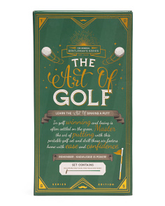 The Art Of Golf Set
