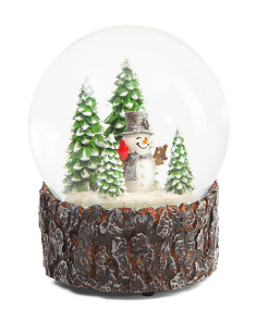 Winter Wonderland Snow Globe
