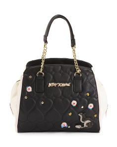 Slouch Multi Function Quilted Tote