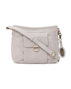 Eudora Leather Crossbody