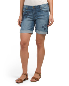 Catherine Boyfriend Roll Up Shorts